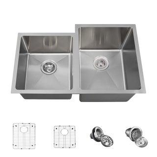MR Direct 3120 Kitchen Ensemble Stainless Steel 3/4 Radius Sink