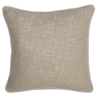 Fancy Natural Feather and Down Filled Decorative Pillow