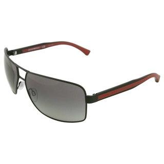 Emporio Armani Men's Matte Sunglasses