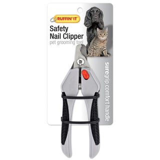 Soft Grip Safety Nail Clipper For Dogs & Cats