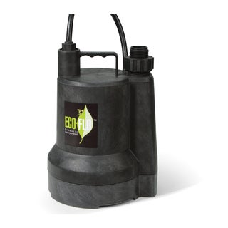 ECO-FLO SUP54 0.166 HP Automatic Thermoplastic Submersible Utility Pump