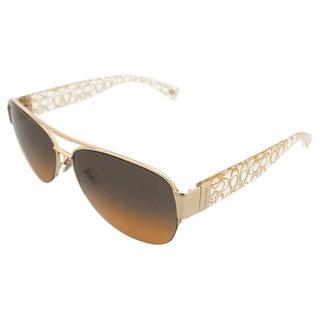 Coach Addison HC7042 917895 Women's Orange Sunglasses