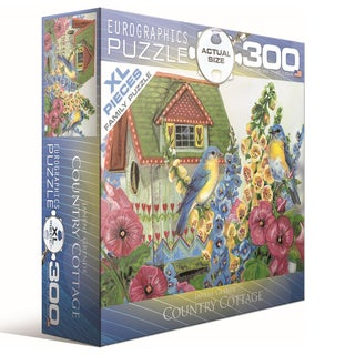 Janene Grendy Country Cottage 300-piece Puzzle