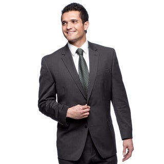 Michael Kors Men's Double-vented Charcoal Suit