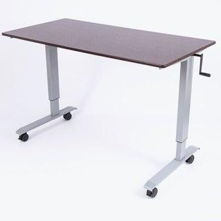 Luxor Standup-CF60-DW 60-inch Crank Adjustable Stand-Up Desk