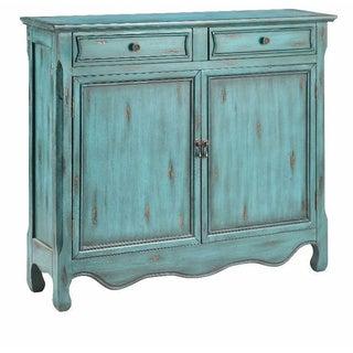 Claridon Weathered Blue Cabinet