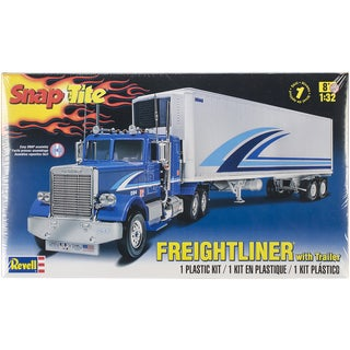 Snaptite Plastic Model Kit-Freightliner & Trailer 1/32