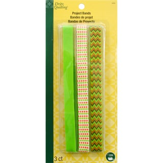 Dritz Quilting Project Bands 3/Pkg-Olive