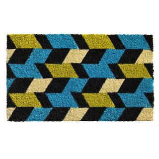 Grand Graphics Coir with Vinyl Backing Doormat (2' x 3')