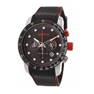 Red Line Men's RL-50044-BB-SS-01-BK Velocity Black Watch