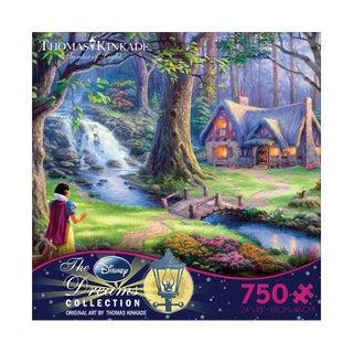Thomas Kinkade Disney Dreams Snow White Discovers the Cottage 750-piece Puzzle