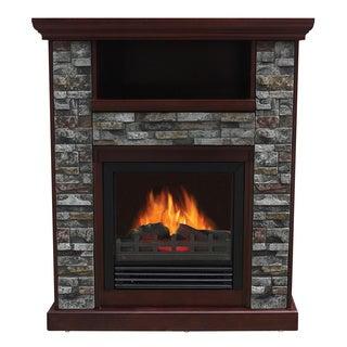 Stonegate Asheville Chestnut Electric Entertainment Center Fireplace