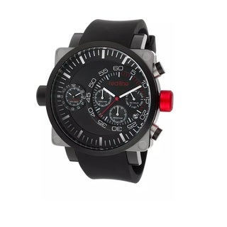 Red Line Men's RL-50048-SS-BB-01-BK Dual Timer Black Watch