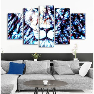 Design Art 'Leader of the Pack' Lion Canvas Art