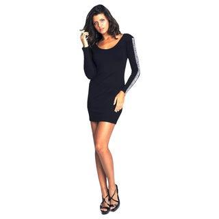 Sara Boo Women's Black Cocktail Dress