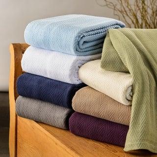 All-Season Luxurious 100-percent Cotton Metro Blanket