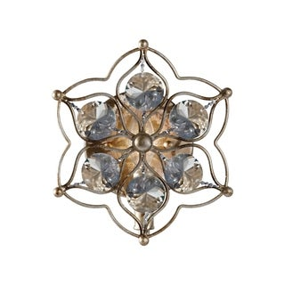 Leila Burnished Silver 1-light Wall Sconce