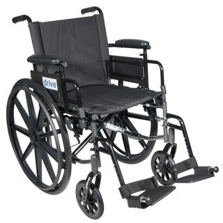Drive Medical Cirrus IV Lightweight Dual Axle Wheelchair with Adjustable Arms