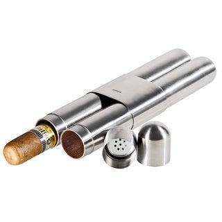 Adorini Satin Travel Double Cigar Case