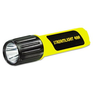 Streamlight ProPolymer Lux LED Flashlight Yellow (Four-AA batteries included)