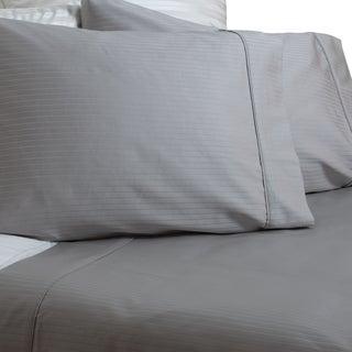 Austin Horn Classics 600 Thread Count Grey Dobby Supima Cotton Sheet Set