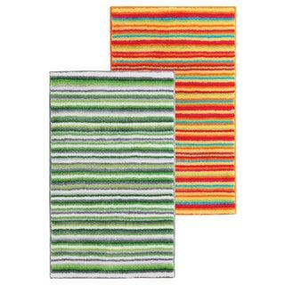 Grund America Multi-color Striped Orange Rug
