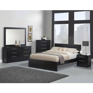 Sandberg Furniture Diamante Bedroom Set