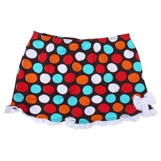 Azul Swimwear Girls' 'Spot On' Swim Skirt