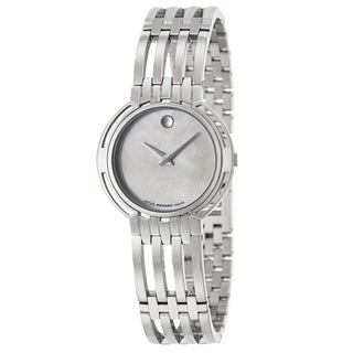 Movado Women's 0605238 'Esperanza' Stainless Steel Swiss Quartz Watch