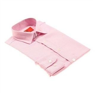 Elie Balleh Boys Slim Fit Solid Dress Shirt