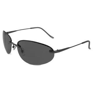 Alta Vision Men's/ Unisex Laguna Polarized/ Wrap Sunglasses