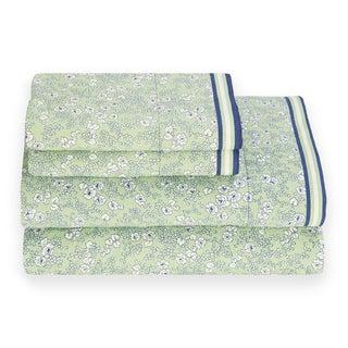 Tommy Hilfiger Vineyard Peapod Green Sheet Set