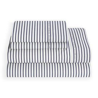 Tommy Hilfiger Signature Stripe Sheet Set