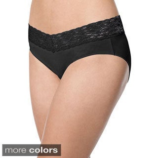 Barely There Invisible Look Lace Waist Hipster