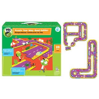 PBS Kids Puzzle Your Way Road Builder Game