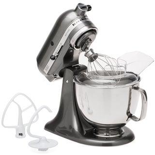 KitchenAid KSM150PSQG Liquid Graphite 5-quart Artisan Tilt-head Stand Mixer