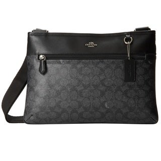Coach Spencer Signature Coated Canvas Crossbody Bag