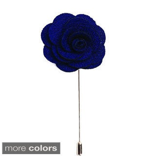 Men's Lapel Handmade Flower Pin