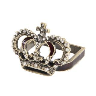 Crown Napkin Ring - set of 4