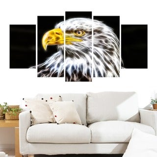 Bald Eagle Animal Art Canvas, Multiple Sizes