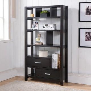 Furniture of America Durren Cappuccino Multifunctional Display Shelf