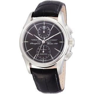 Hamilton Men's H32516731 Spirit of Liberty Black Watch