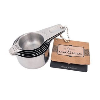 Stainless Steel 6-piece Stackable Measuring Cup Set