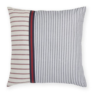 Tommy Hilfiger Vintage Plaid Stripe Decorative 18-inch Throw Pillow