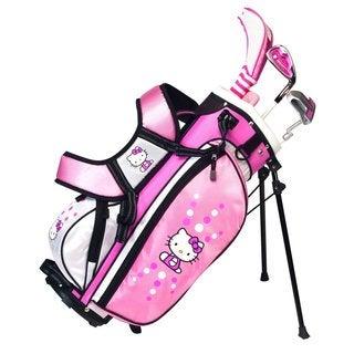 Hello Kitty Golf Junior Set (6-8 Years Old)