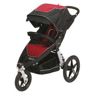 Graco Relay Click Connect Performance Jogging Stroller in Cougar
