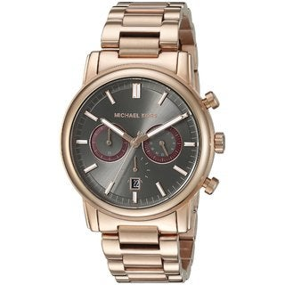 Michael Kors Men's MK8370 Pennant Rose Goldtone Ion-plated Stainless Steel Watch