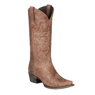 Lane Boots Wild Ginger Cowboy Boot Dark Brown