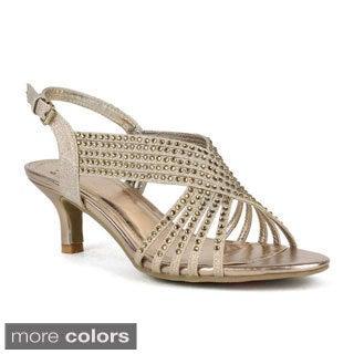Celeste Women's Fionn-03 Shining Diamond Medium Kitten Heel