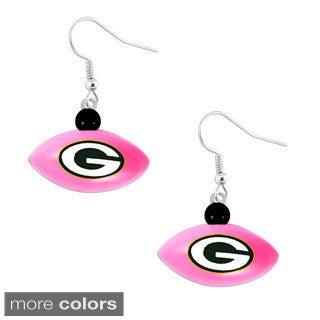 NFL Mini Football Dangle Earrings